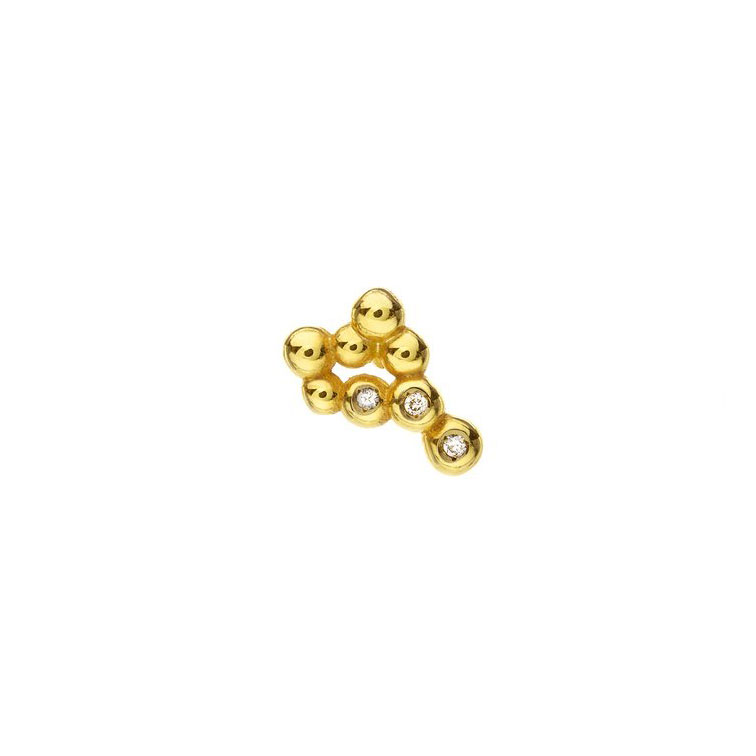 Huffy Flora Diamonds Single Earring