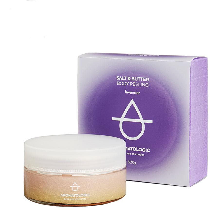 Aromatologic Salt and Butter Body Peeling Lavender
