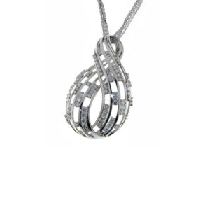 Gallery Diamond White Gold and Diamonds Necklace