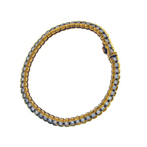 Yellow Gold and Diamonds Bracelet