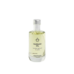 Aromatologic Massage Oil Lavender Patchouli and Vanilla