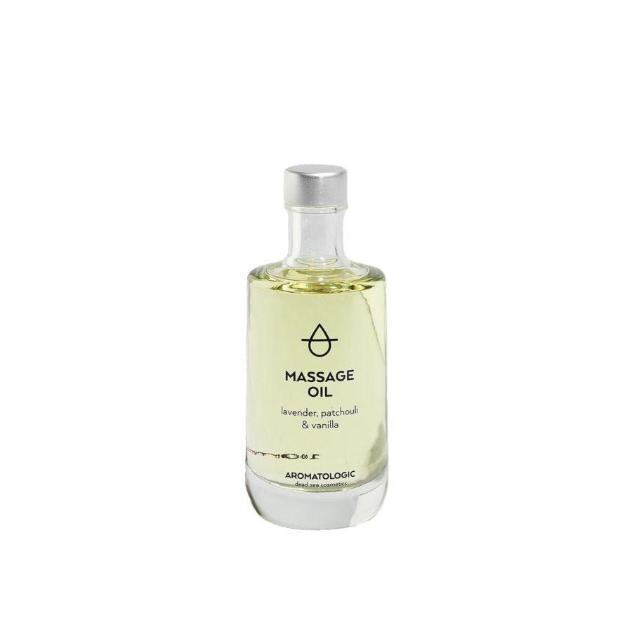 Aromatologic Massage Oil Lavender Patchouli and Vanilla