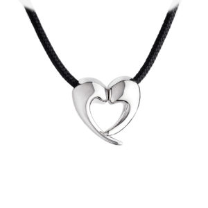 Minas A650 Divided Heart Necklace