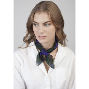 APERSE Equator Night Neckerchief on model
