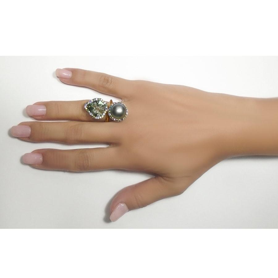 Anomy Mermaid Ring on model