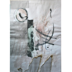 Gerasimos Avlamis Untitled Mixed Media 100 cm x 70 cm