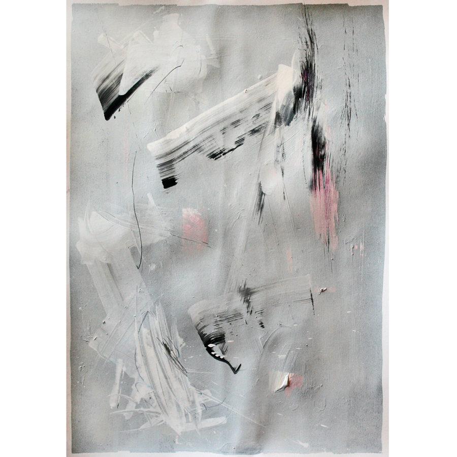 Gerasimos Avlamis Untitled Mixed Media on Paper 50 cm x 35 cm