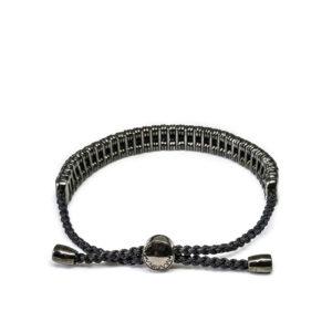 Marina Vernicos Black Platinum Plated Silver Bracelet