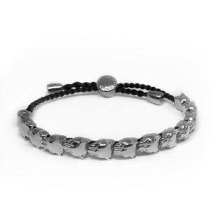Marina Vernicos Silver Panther Bracelet
