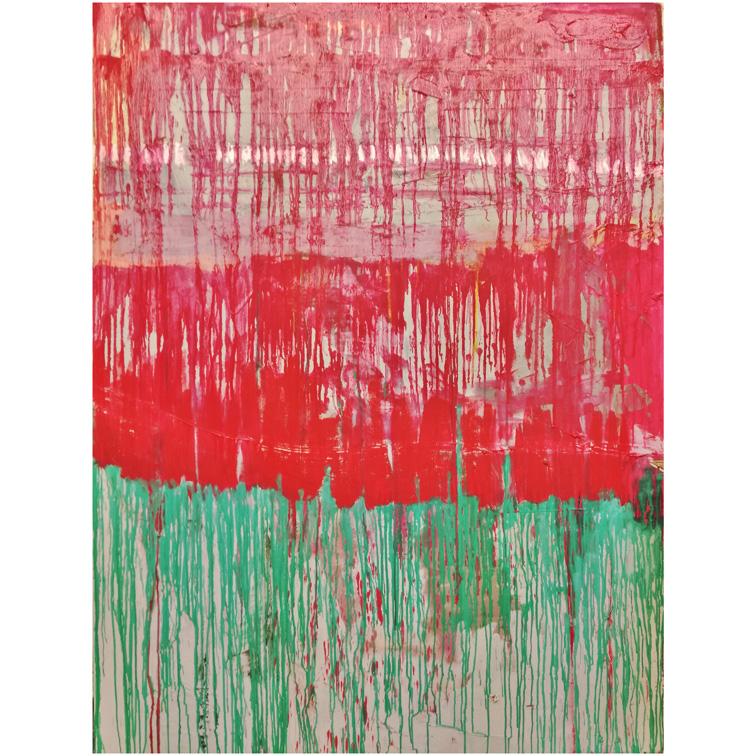 Eleni Gkinosati Untitled Oil on Canvas 175 cm x 145 cm x 4 cm 2016