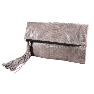 Wings Aphrodite Clutch Envelope Medium Taupe