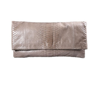Wings Oversized Clutch Taupe