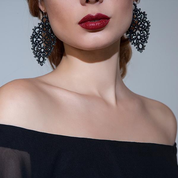 Contessina Diana Semi-Precious Stones Earrings