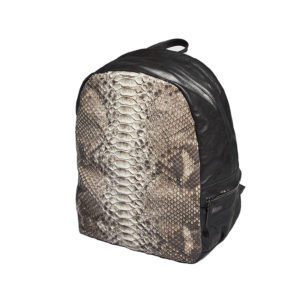 Wings Leather Python Travel Backpack