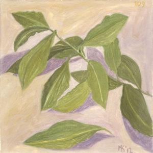 Markos Kampanis. Νωπογραφία. Fresco. 2012-13 Flowers 109
