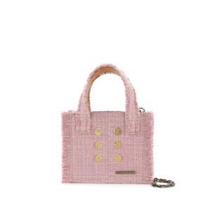 KOORELOO Epiphany Tote Baby Pink Fabric Shoulder Bag