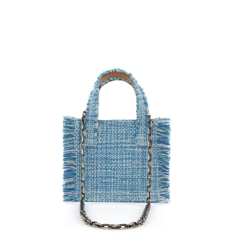 KOORELOO Epiphany Aquamarine Fabric Shoulder Bag