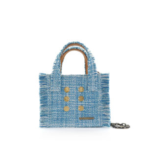 KOORELOO Epiphany Aquamarine Fabric Shoulder Bag