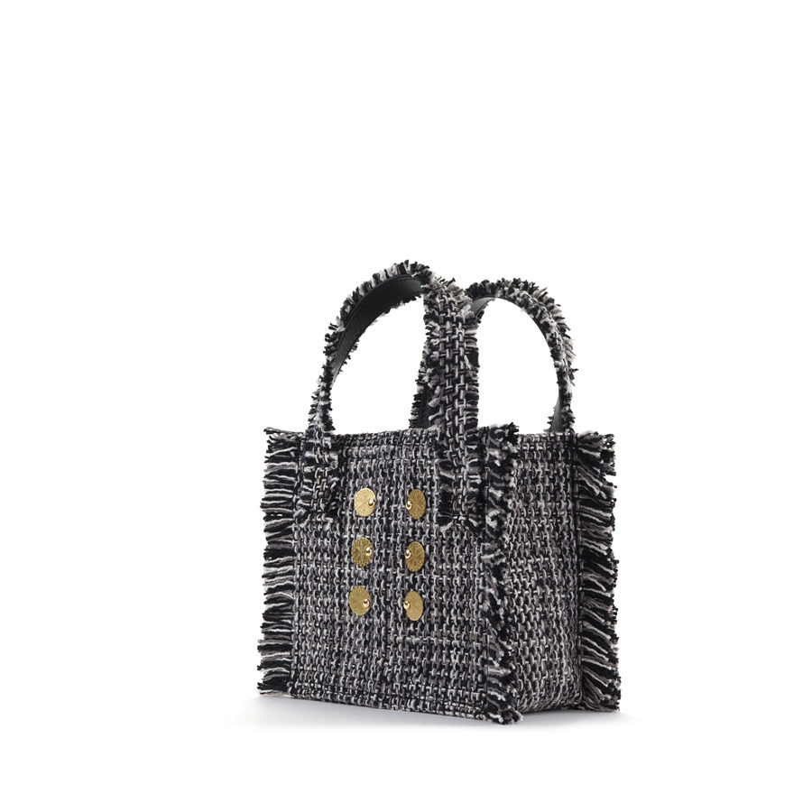 KOORELOO Epiphany Tote Domino Fabric Shoulder Bag