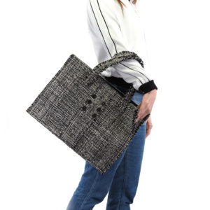 KOORELOO Epiphany Domino Fabric Tote Bag