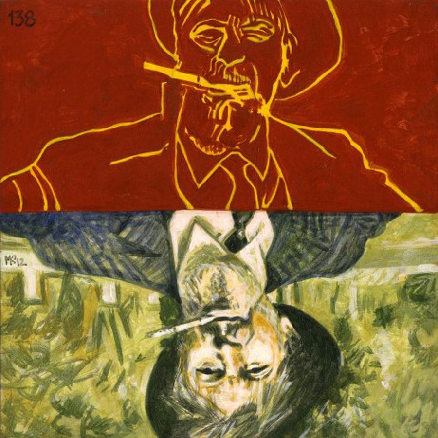 Markos Kampanis Portraits 2012, Ακρυλικό σε ξύλο. Acrylic on wood. 138