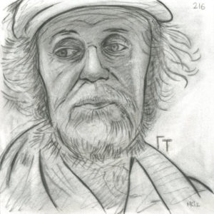 Markos Kampanis Portraits 2012, Κάρβουνο σε χαρτί. Charcoal on paper. 216