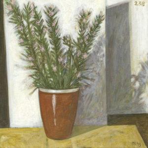Markos Kampanis. Ακρυλικό σε ξύλο. Acrylic on wood.. 2012-13 Flowers 238