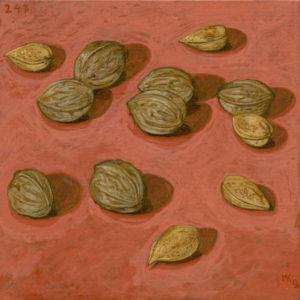 Markos Kampanis. Ακρυλικό σε ξύλο. Acrylic on wood. Still Lives 2012-13, 247