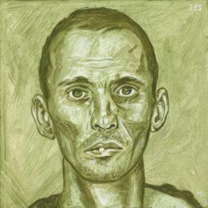 Markos Kampanis, Ακρυλικό σε ξύλο. Acrylic on wood, 2012-13 Antithesis 285
