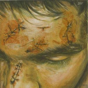 Markos Kampanis, Ακρυλικό σε ξύλο. Acrylic on wood, 2012-13 Antithesis 295