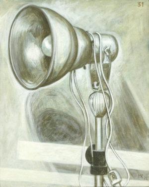 Markos Kampanis, Ακρυλικό σε ξύλο. Acrylic on wood, 2012-13 Studio 31
