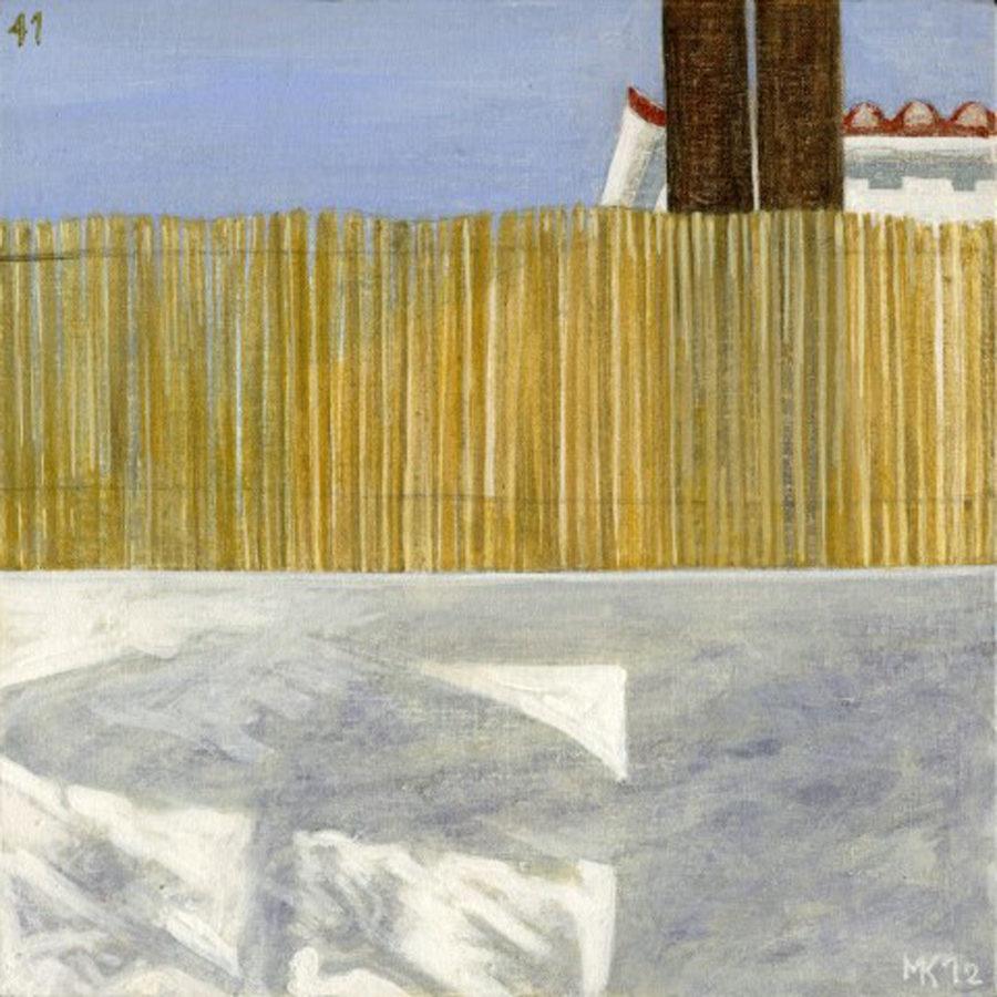Markos Kampanis. Landscapes. 2012-13. Ακρυλικό σε ξύλο. Acrylic on wood. 41