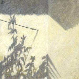 Markos Kampanis. Landscapes. 2012-13. Ακρυλικό σε ξύλο. Acrylic on wood. 69