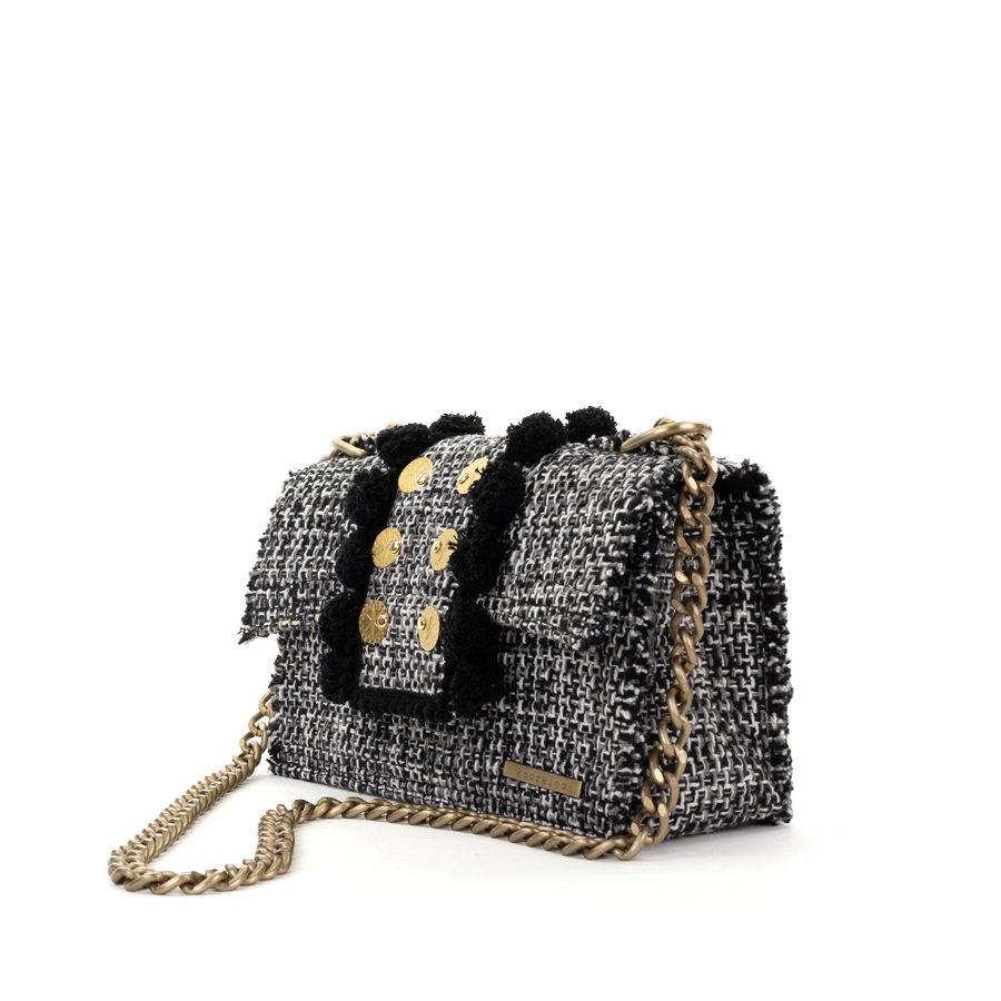 KOORELOO Epiphany Romeo Domino Fabric Shoulder Bag