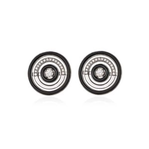 Anileve Symmetrical Elegance Targets Earrings