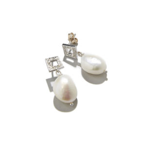 Dolly Boucoyannis Diamonds and Pearls Earrings