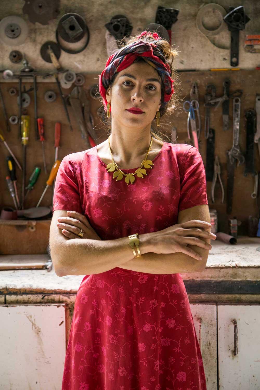 Eva Papadopoulou Portrait