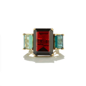 Dolly Boucoyannis Granada-Tourmaline Ring