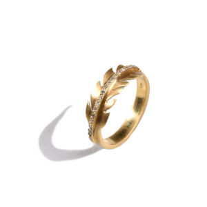 Ileana Makri Baby Eagle Feather Ring