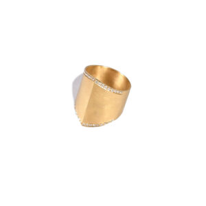 Ileana Makri Diamond Armor Ring D
