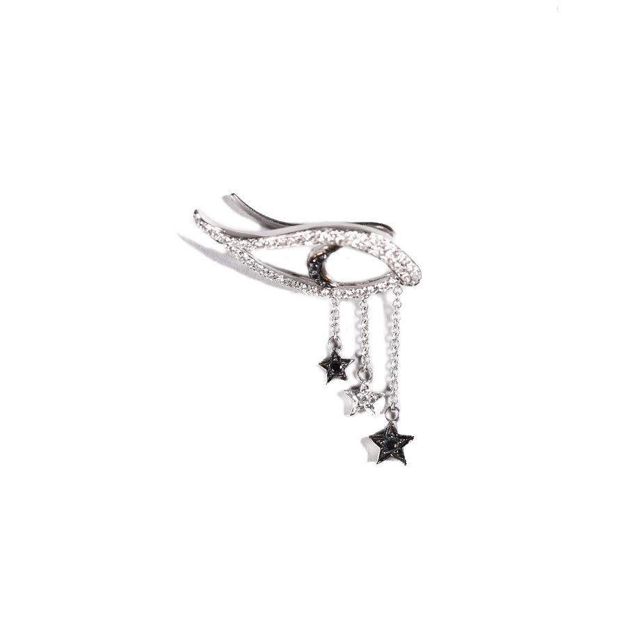 Ileana Makri Starry Night Eye Earring