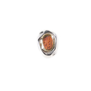 Juliette Polac Persian Cornelian Engraved Ring