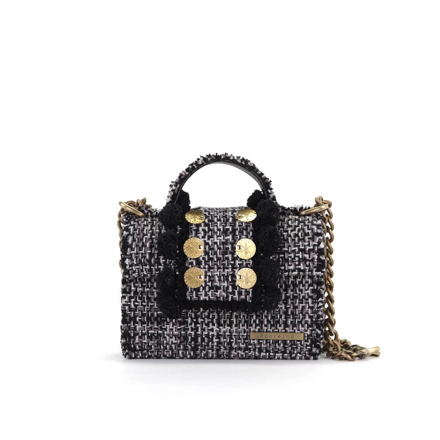 1ec5eeac172 Epiphany Petite Juliet Domino Fabric Shoulder Bag