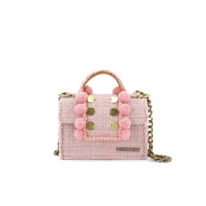 Epiphany Petite Juliet Baby Pink Shoulder Bag