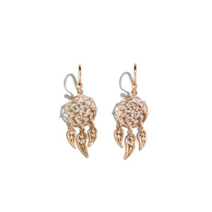 Dolly Boucoyannis Mini Hoop Dreamcatchers Earrings