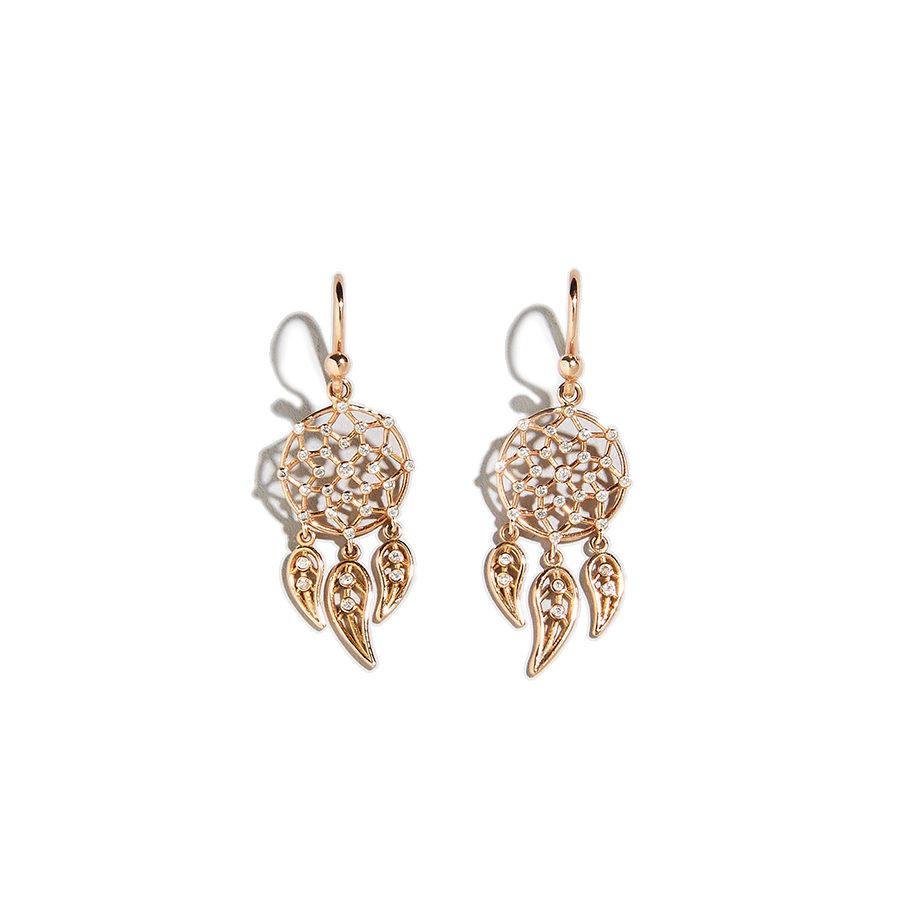 Dolly Boucoyannis Mini Hoop Dreamcatchers Earrings