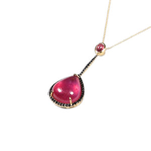 Marlen Ht Gold Ruby Necklace