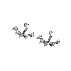 Orofasma Triangle Diamond Earrings