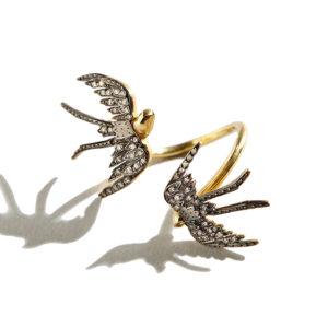 Pari Sofianou Sparrows Golden Ring