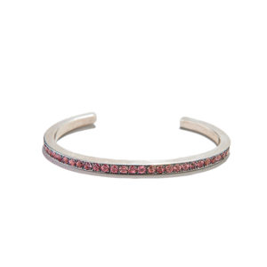 Dolly Boucoyannis Pink Tourmaline Bangle Bracelet Large